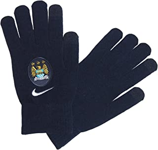 Nike Mcfc Supporter Knitted Glove, Black