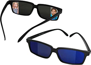 Smart Novelty Spy Glasses Rear View Mirror Vision See Behind You Sunglasses for Kids - Pack of 2 Rearview Spy Sunglasses