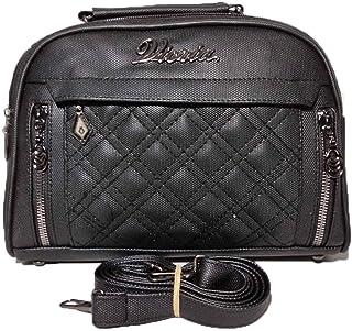 فيكريا حقيبة للنساء-اسود - حقائب طويلة تمر بالجسم