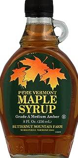 Butternut Mountain Farm Grade A Dark Maple Syrup, 8 oz