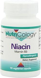 NutriCology Niacin 90 Vegetarian Capsules