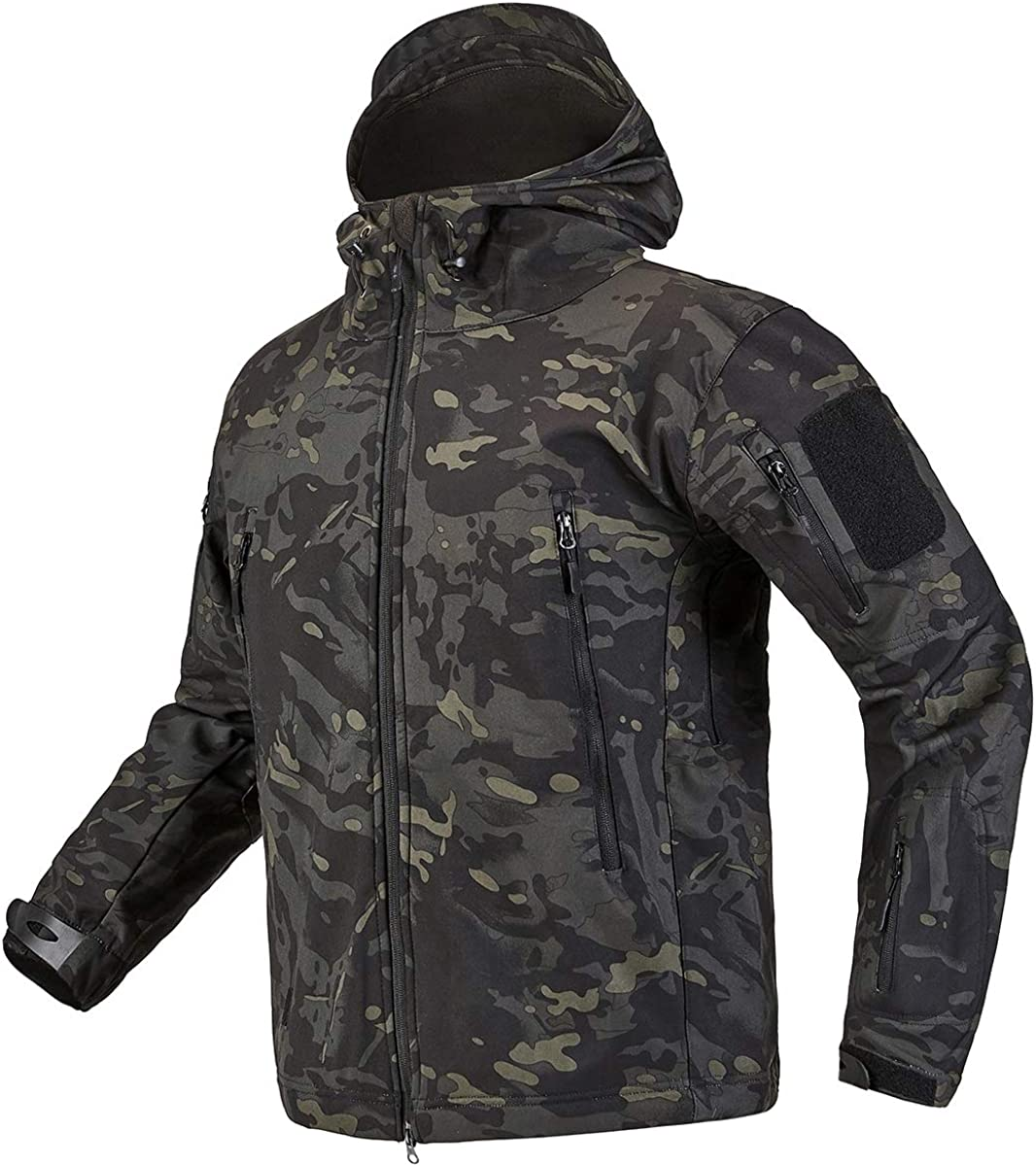CARWORNIC In stock Men's Tactical 70% OFF Outlet Outdoor Softs Hunting Jacket Waterproof
