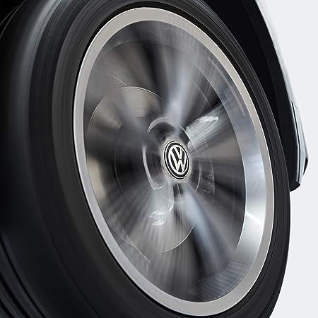 Volkswagen 000071213c Nabenkappe Für Lm Felge Dynamisch Mit Stehendem Logo Im Fahrbetrieb Auto