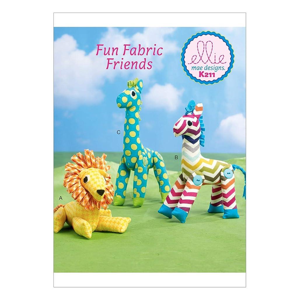 KWIK-SEW PATTERNS K0211 Stuffed Toys, One Size