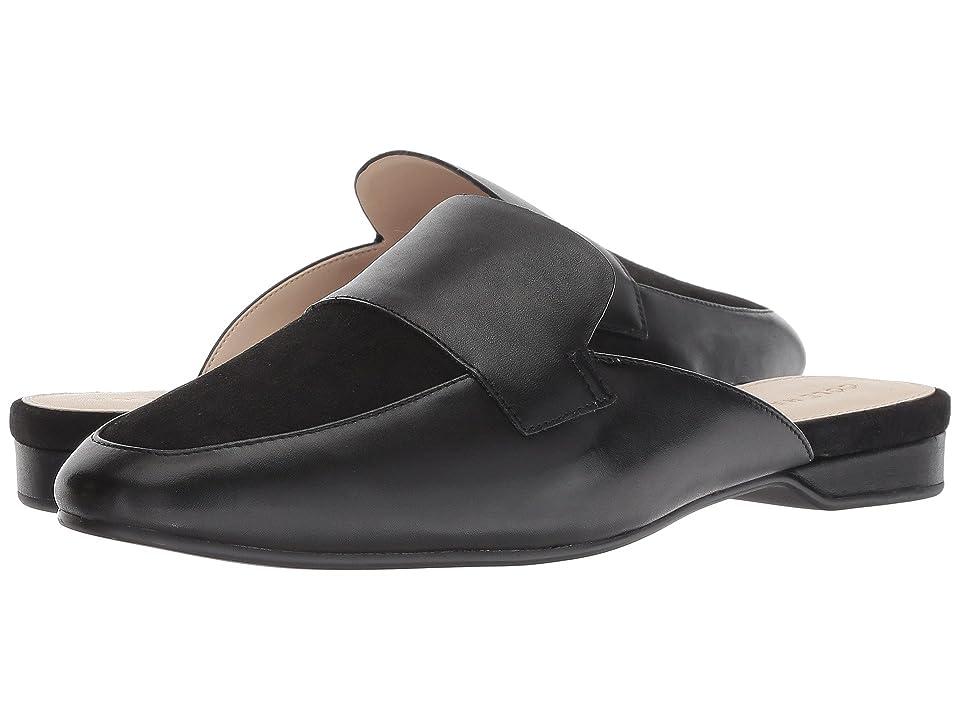 Cole Haan Delcie Loafer Mule II (Black Leather) Women