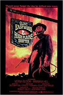 "High Plains Drifter - 11""x17"" (27.94 x 43.18 cm) Movie Poster"