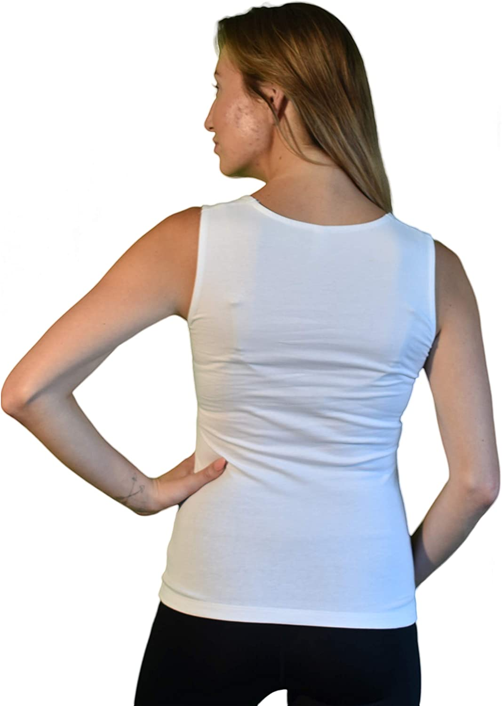 Tank t Shirt for Women FSM Women Tank Women Solid Color Sleeveless t-Shirt Slim Tank Tops