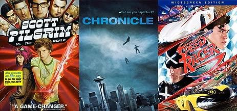 What Are You Capable Of? Teen Super Hero 3-Pack: Scott Pilgrim (vs. the World) & Chronicle & Speed Racer DVD Set