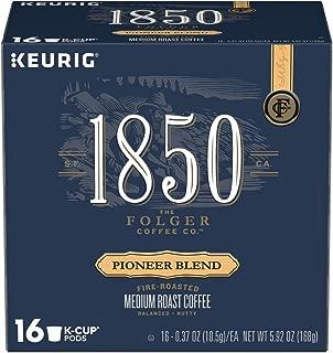 Folgers 1850 Pioneer Blend Keurig K-Cups coffee 16 pods, pack of 1