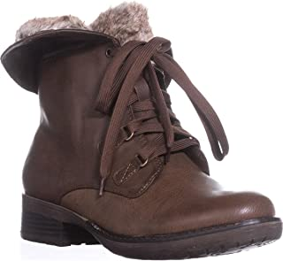 BareTraps Womens Henriette Faux Leather Convertible Combat Boots