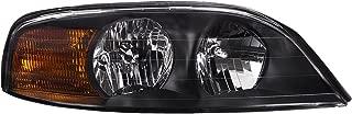 HEADLIGHTSDEPOT Chrome Housing Halogen Right Passenger Headlight Compatible With Holiday Rambler Navigator 2002-2005 Motorhome RV