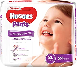 Huggies Platinum Pants, XL, 24ct
