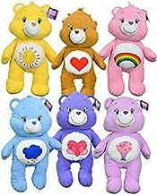 "Care Bears Large 24"" Pillow Plush Goody! 6-Pack Collection: Grumpy Bear, Share Bear, Funshine Bear, Harmony Bear, Tenderheart Bear and Cheer Bear"