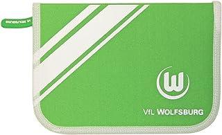 VFL Wolfsburg Schuletui/Federtasch/Etui/Federmappe gefüllt 29 teilig VFL