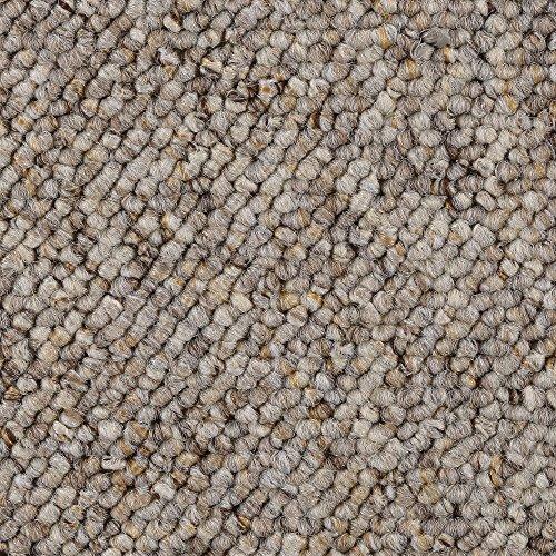 BODENMEISTER BM72181 Teppichboden Auslegware Meterware Schlinge beige 200, 300, 400 und 500 cm breit, verschiedene Längen, Variante, 2 x 3 m