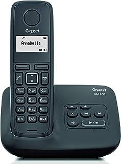 Tel/éfono inal/ámbrico DECT con contestador autom/ático funci/ón de altavoz, pantalla LED, funci/ón ECO Medion LIFE P62004 Importado de Alemania