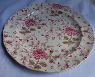 ジョンソンBrothers Rose Chintzセラミックケーキプレート/ Platter
