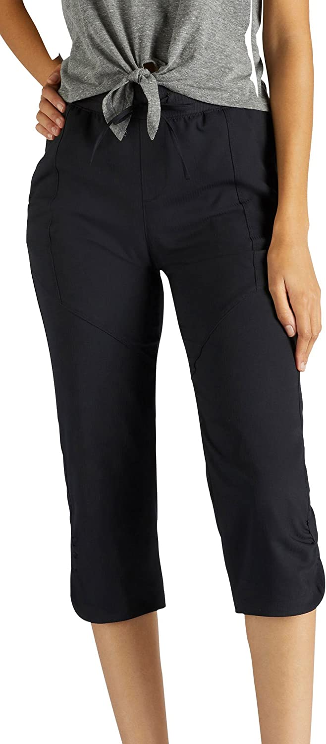 Lee 当店限定販売 Women's Relaxed Fit Capri Performance Essence Pant (訳ありセール 格安)