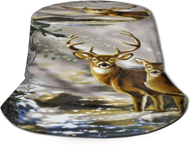 Real Tree favorite Camouflage Deer Bucket Hat Sun Award Unisex Summer Packa