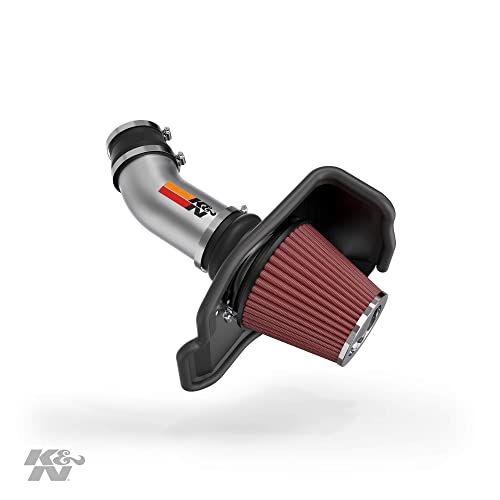 K&N Cold Air Intake Kit: High Performance, Guaranteed to Increase Horsepower: 2011-2019 Dodge/Chrysler (Challenger, Charger, 300) 6.4L V8, 69-2545TP