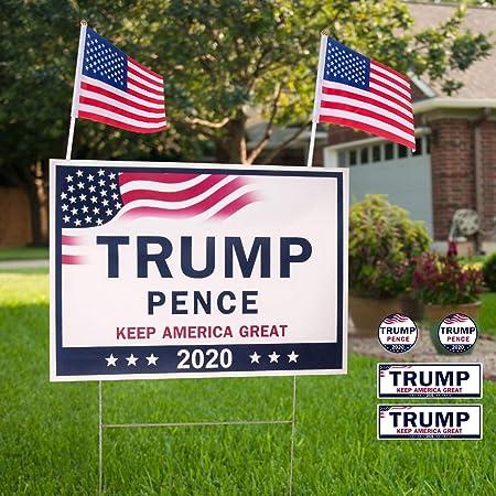 """TRUMP 2020  9/"""" x 12/"""" Sign"""