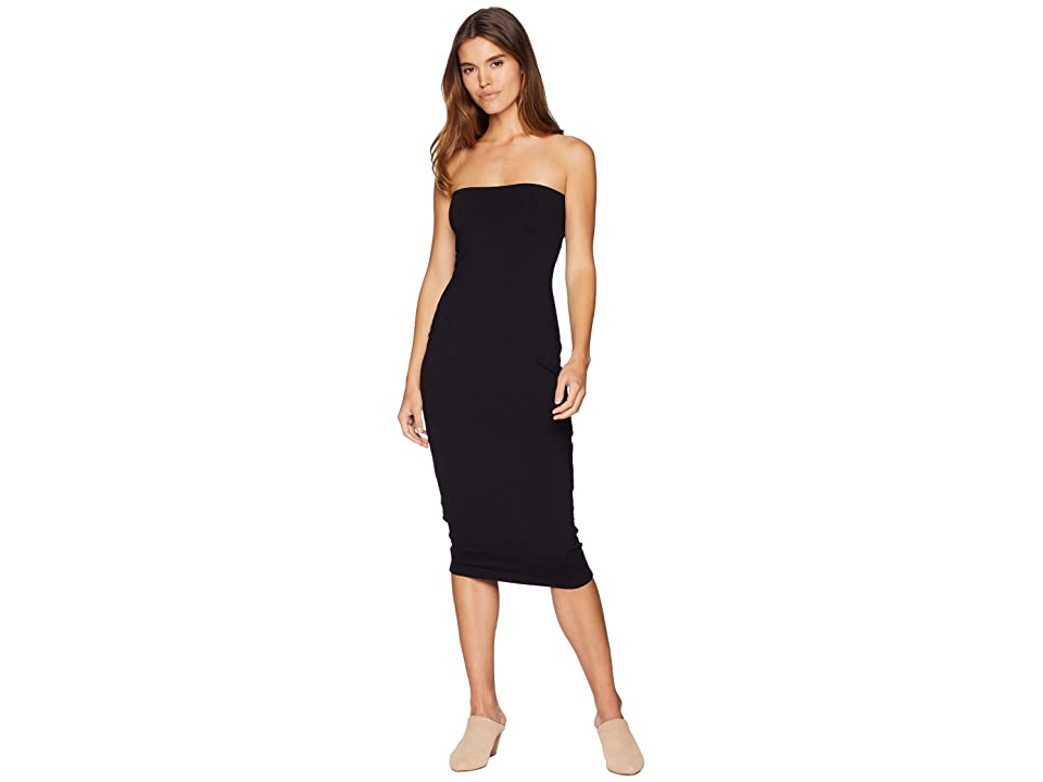 Susana Monaco Long Tube Dress (Black) Women