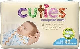Diaper, Baby Cuties Complete Care Jumbo Sz0 (Units Per Bag: 40)