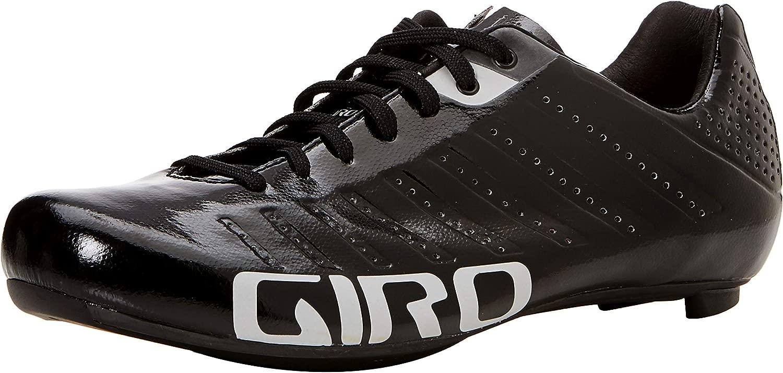 Giro Empire SLX Road Cycling Shoes 黒/銀 45