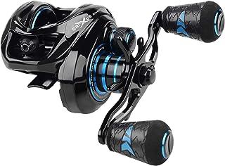 KastKing Crixus ArmorX Baitcasting Reels, 7.2:1 Gear Ratio Fishing Reel, Aluminum Frame, 6.8 oz, 9+1 Shielded SS Bearings,...