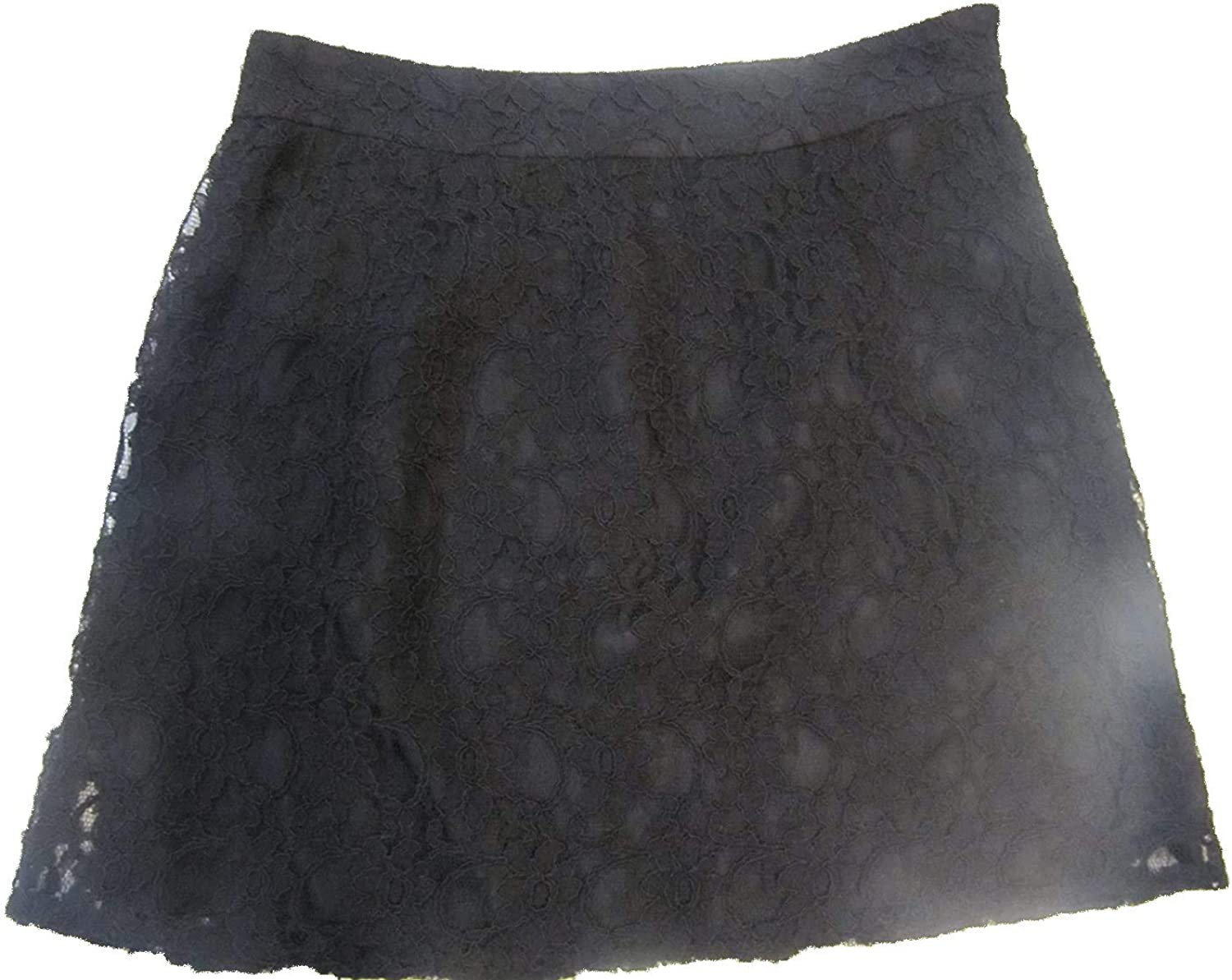 LAUNDRY Max 69% OFF A surprise price is realized BY SHELLI SEGAL Lace Skirt Black Size Line 6
