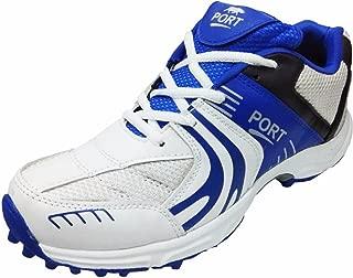 Port Tournament Rubber Spikes Cricket Shoes