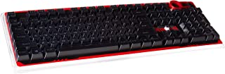Redragon A101 Double-Shot Injection Molded Mechanical Keyboard Keycaps with Key Puller (Black)