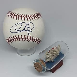 Chase Utley Autographed Signed Rawlings OML Baseball Memorabilia JSA COA Phillies All Star Hof A936