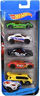 HW BASIC CAR 5-PACK (ALT. CODE DJG23)