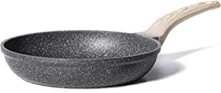 Carote 8 Inch Nonstick Skillet Frying Pan Egg Skillet Omelet Pan, Nonstick Cookware Granite Coating from Switzerland,Black