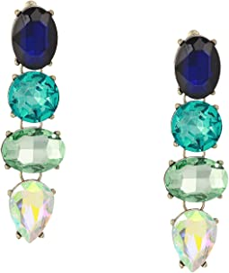 Jewel Drop Style Earrings
