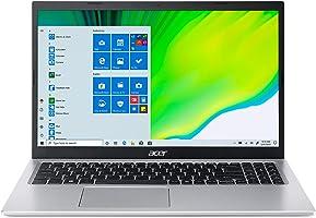 "Acer Aspire 5 A515-56-36UT Slim Laptop   15.6"" Full HD Display   11th Gen Intel Core i3-1115G4 Processor   4GB DDR4  ..."