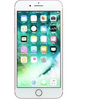 Apple iPhone 7 Plus, 128GB, Rose Gold - For AT&T (Renewed)