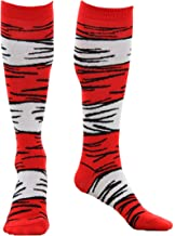 Dr. Seuss Cat in The Hat Striped Costume Socks for Kids