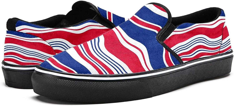 5% OFF Men's Classic Slip-on Las Vegas Mall Canvas Shoe Casual Walking Sneaker Fashion
