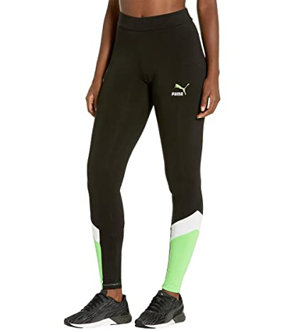 PUMA Classics MCS Leggings (Mist Green) Women