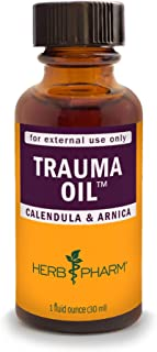HERB PHARM Trauma Oil Compound, 1.2 Pounds (FAOIL01), 1 Fl Oz (Pack of 1)