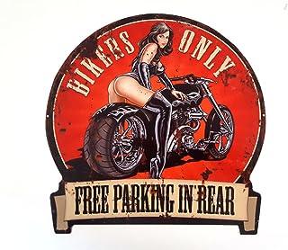 Suchergebnis Auf Für Metallschilder Vintage Auto Motorrad