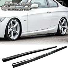 Fandixin E92 Side Skirts Carbon Fiber Side Skirt Extension for 2007-2013 BMW 3 Seires E90 M3 E92 M3 E93 M3