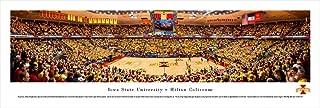 Blakeway Worldwide Panoramas Iowa State Cyclones vs Kansas Jayhawks Basketball Panorama Print -Hilton Magic Strikes Again