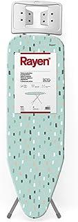 Rayen - Planche à repasser - Gamme basique - Planche avec maille métallique - Hauteur réglable - Repose - Planches - Dimen...
