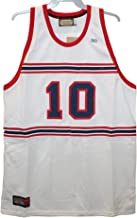 Head Master Cups Winston Salem Rams - Earl Monroe #10 White Throwback Jersey