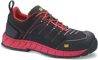 Caterpillar 17195 - Zapatos de Seguridad, Color Rojo, 41