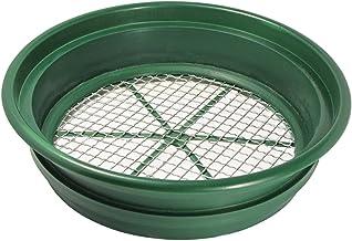 "SE GP2-12 Patented Stackable 13-1/4"" Sifting Pan, Mesh Size 1/2"""