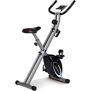 FITFIU Fitness BELI-120 - Bicicleta Elíptica con sillín regulable, multifunción Elíptica y Estática magnética, pantalla LCD, Pulsómetro y disco de inercia de 5kg ideal Entrenamiento Fitness: Amazon.es: Deportes y aire libre